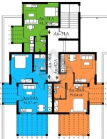 Блок А, 7 этаж